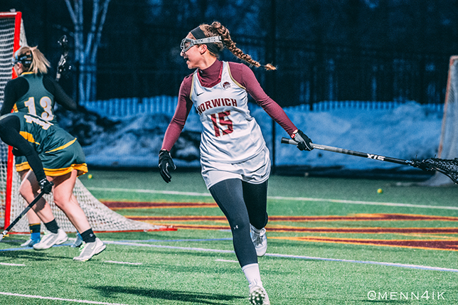 Women's Lacrosse: Cadets dominate Southern Vermont, 15-2