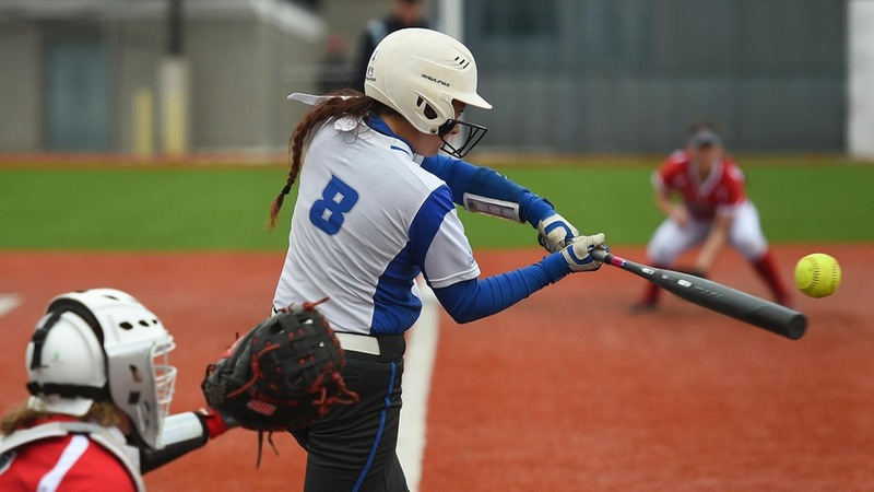 Softball Sweeps Robert Morris, Constantin Tabs Two Homers