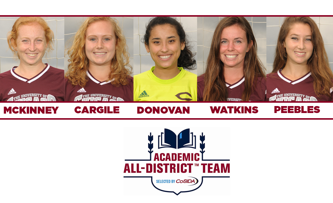 Five Maroons Selected to CoSIDA Women's Soccer Academic All-District Team