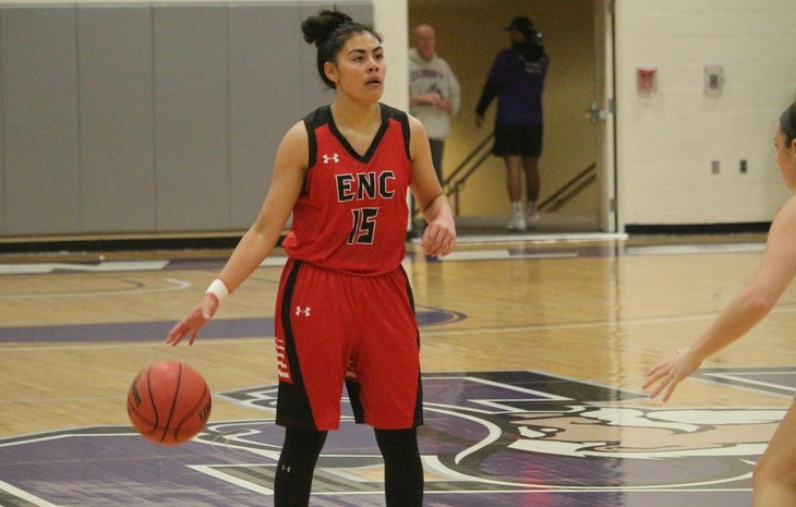 Jenn Burnham Tabbed NECC Women's Basketball Player of the Week