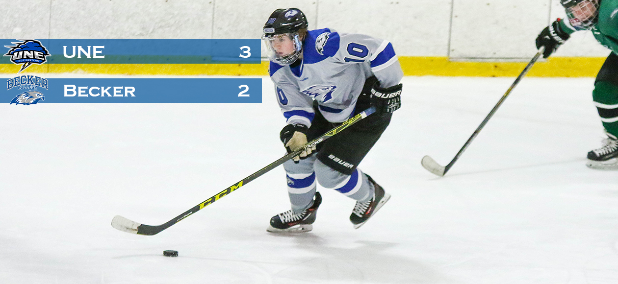 Nor' Easters Rally Past Women's Hockey