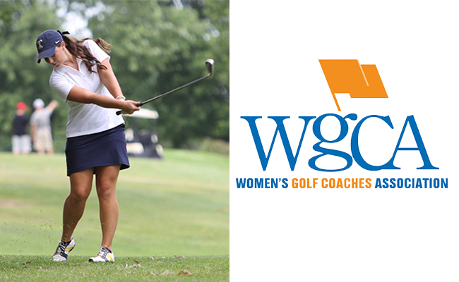 DeBelly Named WGCA All-American Scholar