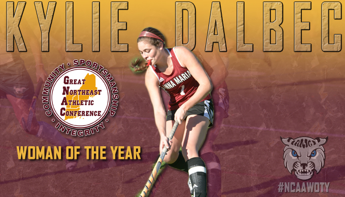 Dalbec Named GNAC Woman of the Year