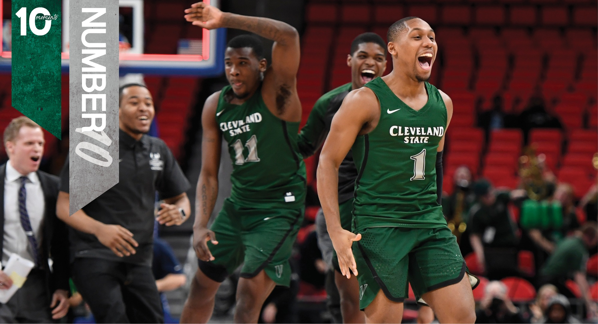 2017-18 CSU Athletics Top 10 Moments | #10 - Men's Basketball Advances to Horizon League Championship Game