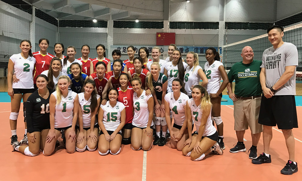 VOLLEYBALL PLAYS ITS FIRST MATCH IN CHINA; DAY 3 PLAYER BLOG