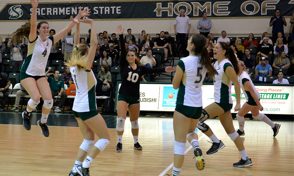 VOLLEYBALL BEATS IDAHO STATE FOR 7TH STRAIGHT WIN, CROWNED BIG SKY SOUTH DIVISION CHAMPIONS