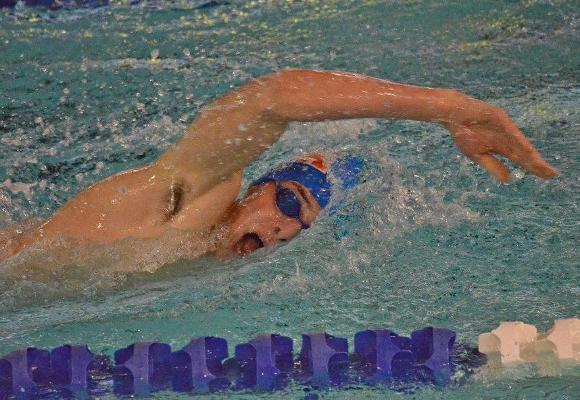 Men's Swimming Edged by Conn. College