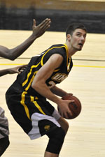 Justin Fry ranks third all-time at UMBC with 118 games played.