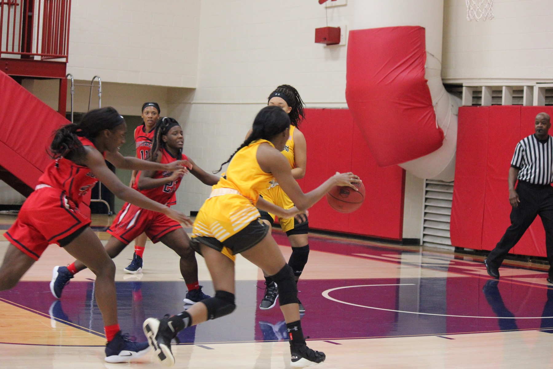 Lady Raiders win with defense