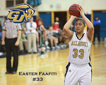 Easter Faafiti named CAC Women's Basketball Player of the Year