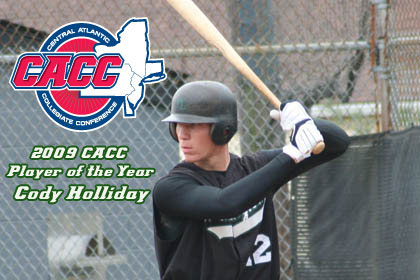 WILMINGTON'S HOLLIDAY TABBED CACC BASEBALL PLAYER OF THE YEAR