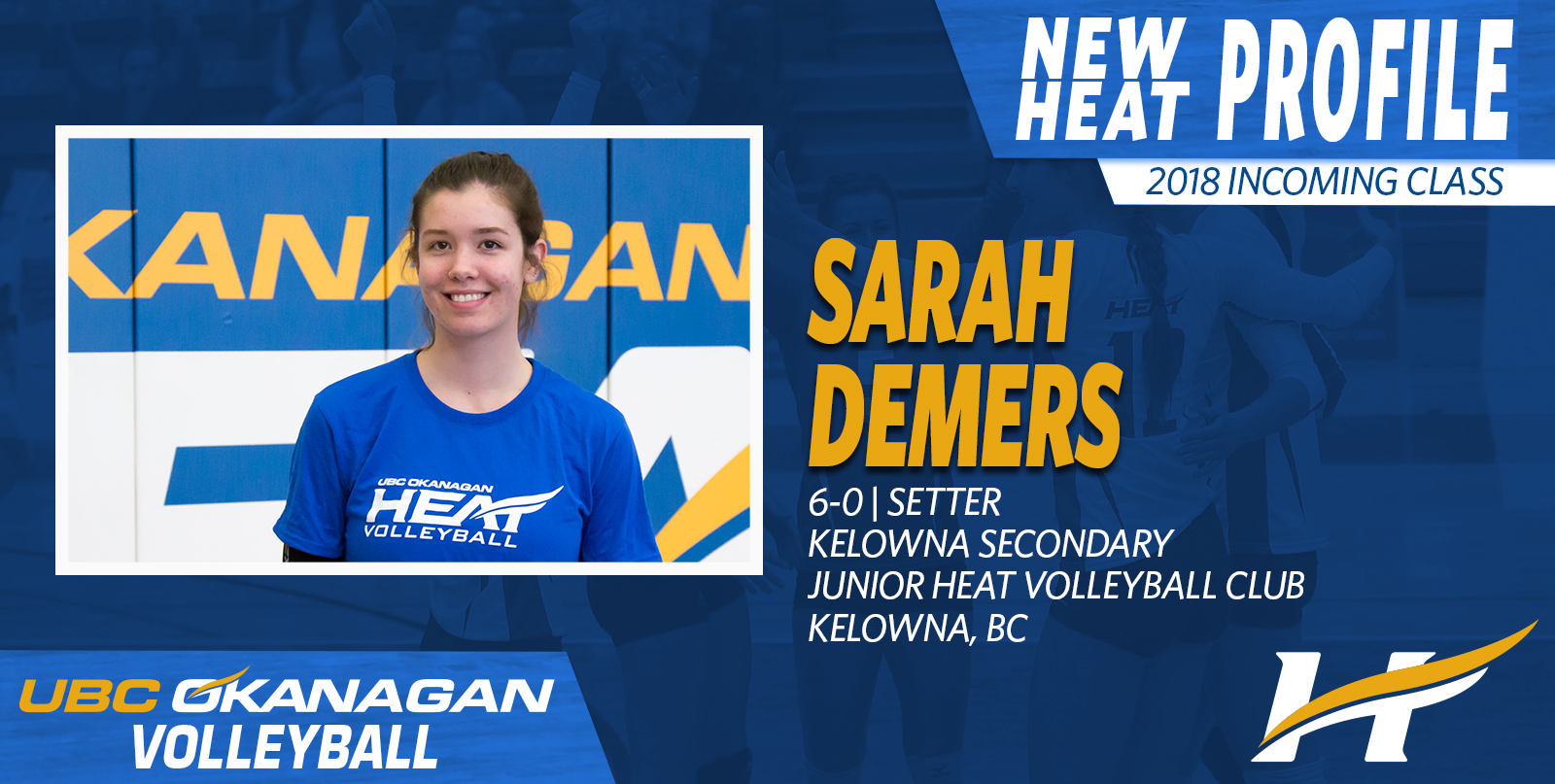 Local setter signs on with Heat women's volleyball
