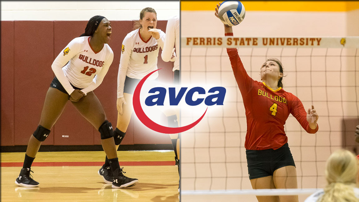 Ferris State's Allyson Cappel & Ayanna Buckley Receive AVCA All-America Honors