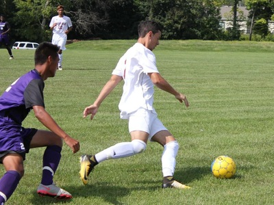 Men's Soccer: Mustangs lose home opener