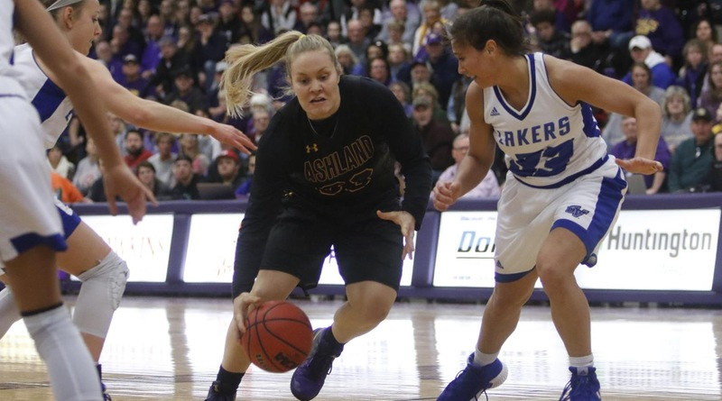 No. 3 Eagle Women Fall Late To No. 15 Lakers