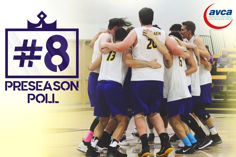 Kingsmen Volleyball Ranked No. 8 in First AVCA Poll