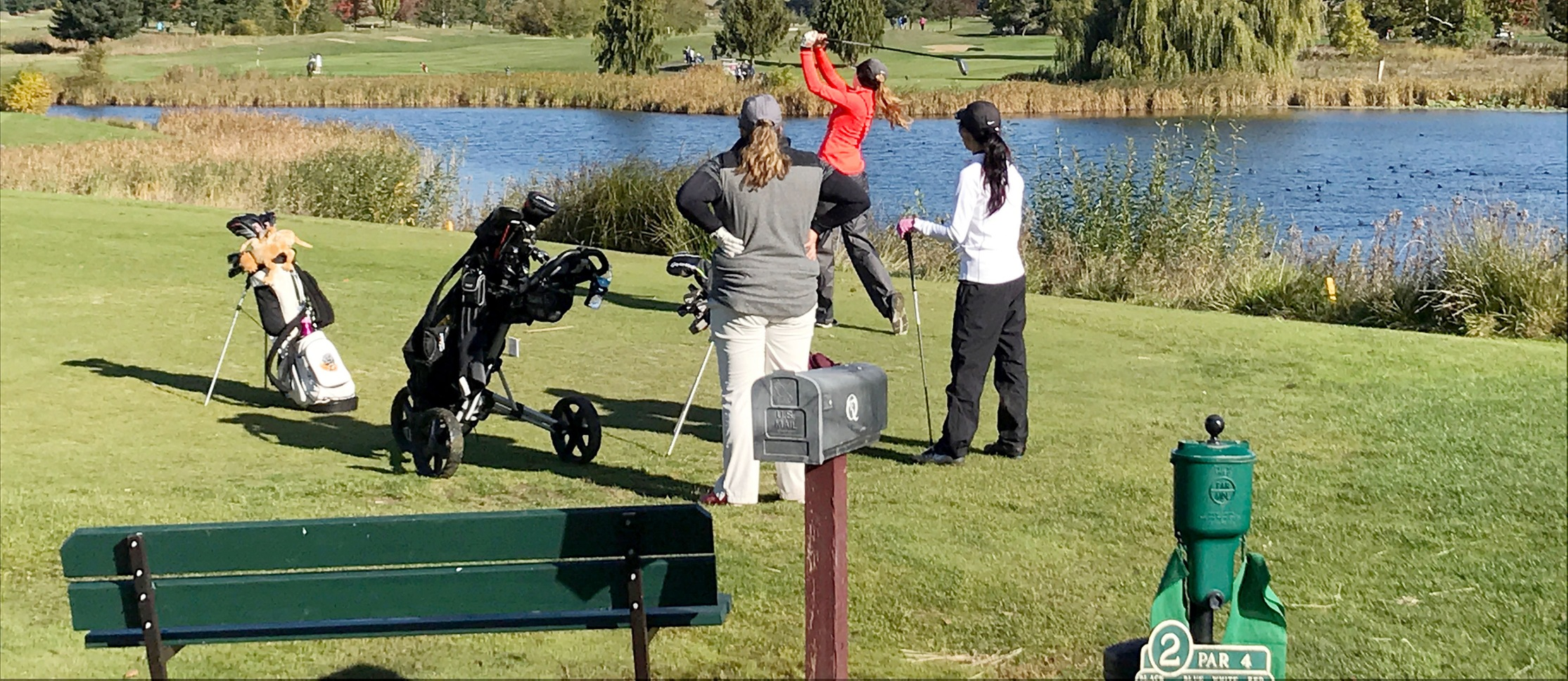 Pioneers move up to fourth in second round of NWC Fall Classic