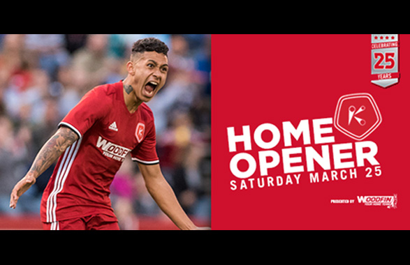 Richmond Kickers Home Opener - March 25!