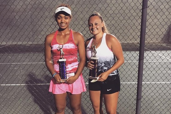 Hornets' Harris wins VA Open ATP/WTA Top 500 women's open doubles title