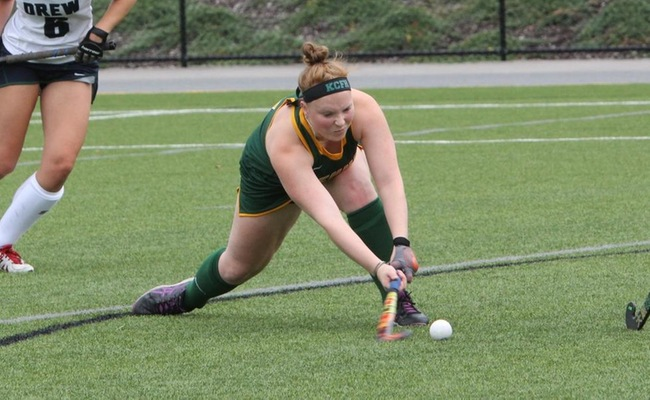 Adele Fairbrother scored her first career goal for Keuka College on Saturday