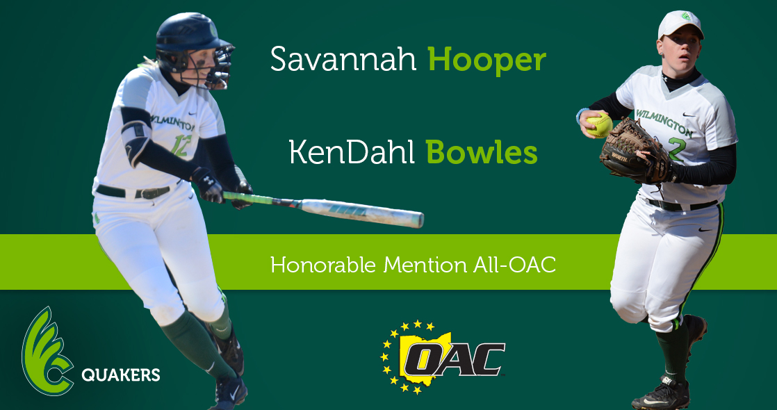 Hooper and Bowles Named Honorable Mention All-OAC
