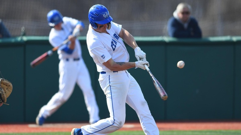 Baseball Falls to Wagner in Pitcher's Duel Saturday, 4-2