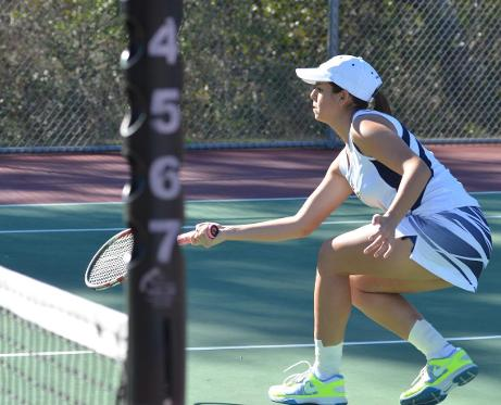 MGCCC'S Kit Chowdhary & Christa Owen reached the women's doubles final at the ITA Championships Sept. 19-21.