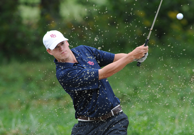 Men's Golf Stands 15th after Day One of the UALR First Tee Classic