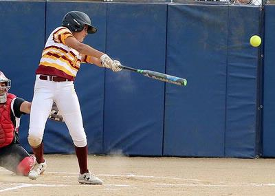 Moreno On Sizzling On-Base Streak As Softball Season Ends