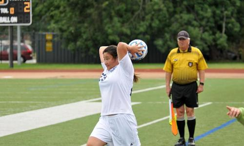 Women's Soccer Victorious Over Simmons, 2-1