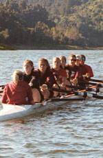 Women's Crew Finishes Third at WCC Championships