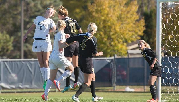 Women's Soccer Fights Off Falcons