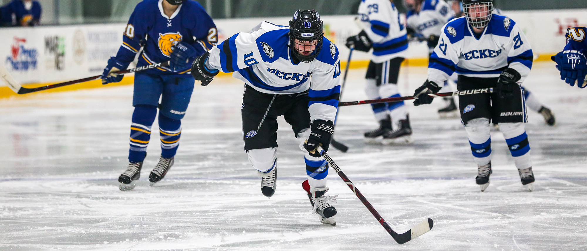 Bailey Coons, women's ice hockey vs. Johnson & Wales