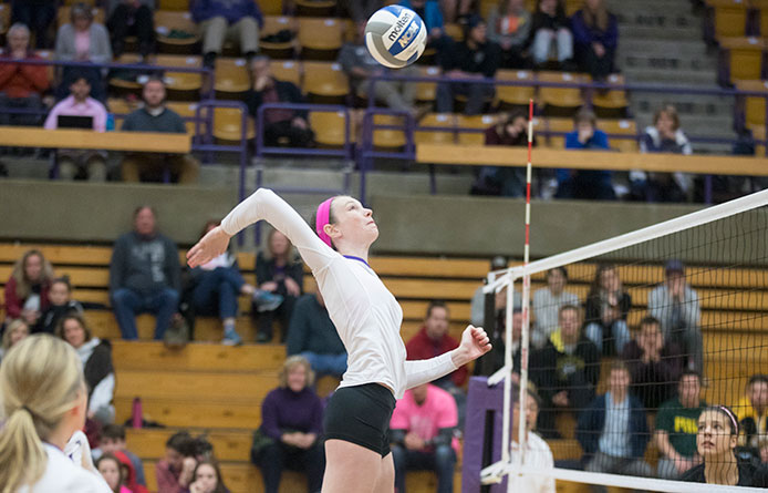 Women's Volleyball Loses NE10 Opener at Bentley