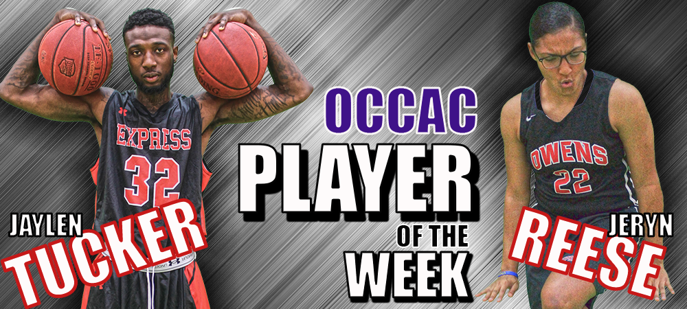 Tucker, Reese Named OCCAC Player of the Week Recipients In Basketball