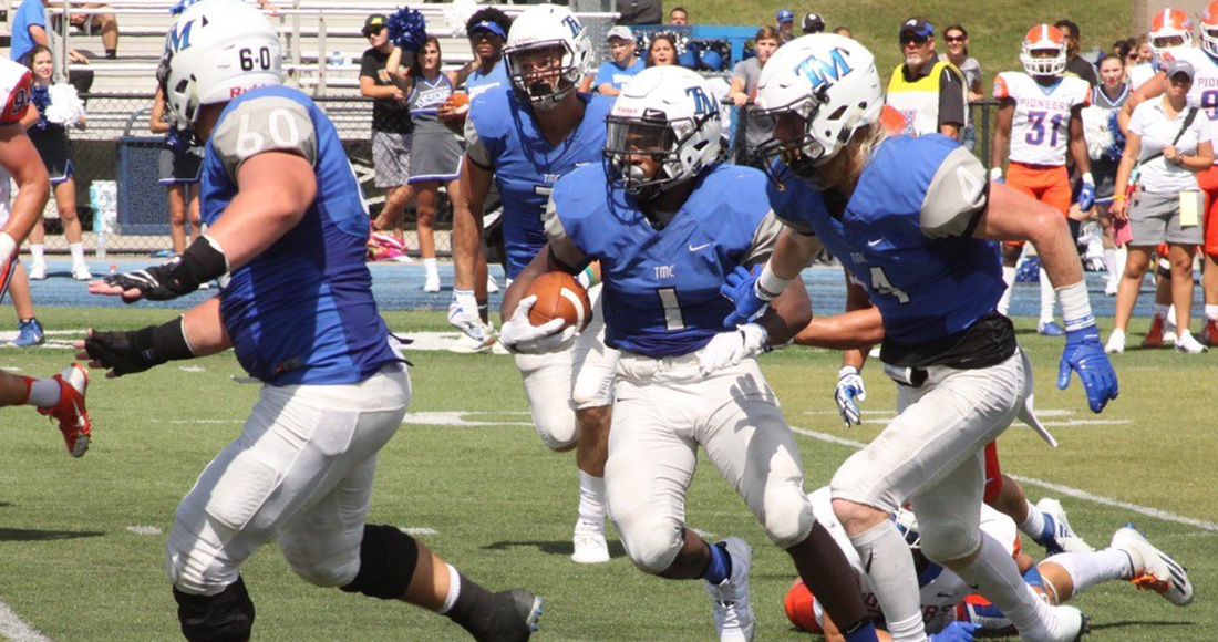 Saints Extend Winning Streak to Three With 38-35 Win at Huntingdon