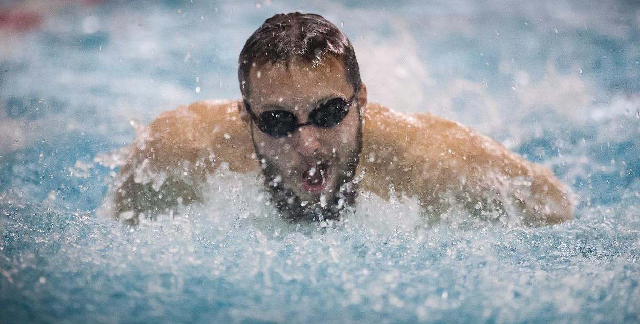 Men's Swimming & Diving Competes in Day 1 of NCAA Championship