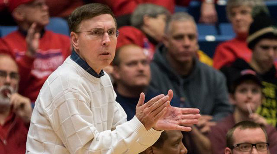 Head coach Steve Eck started his 12th campaign with the Blue Dragons on Monday. Opening Night is 32 days away.