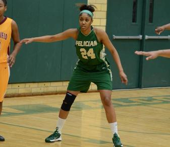 Trina Plummer has been elected to the all-conference team for the third time. (Boris Shabovta '08)