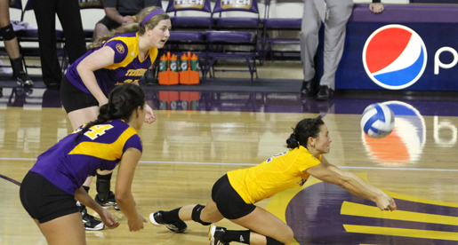 Midweek match pits the Golden Eagle volleyball team versus the TSU Tigers