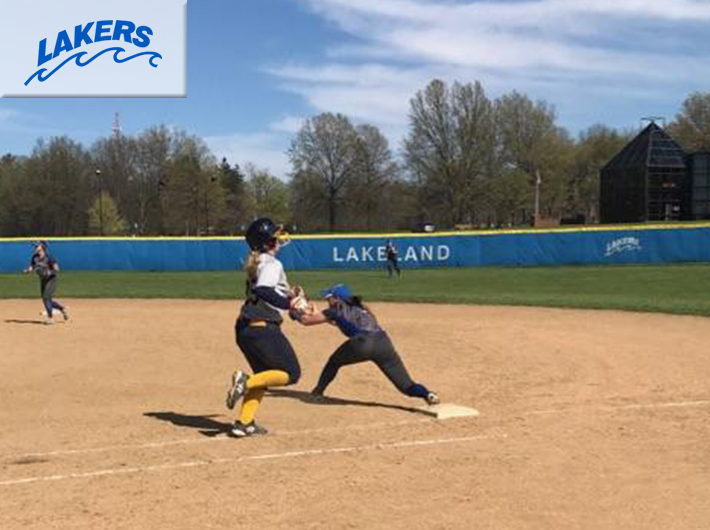 Lakers softball sweeps Potomac State