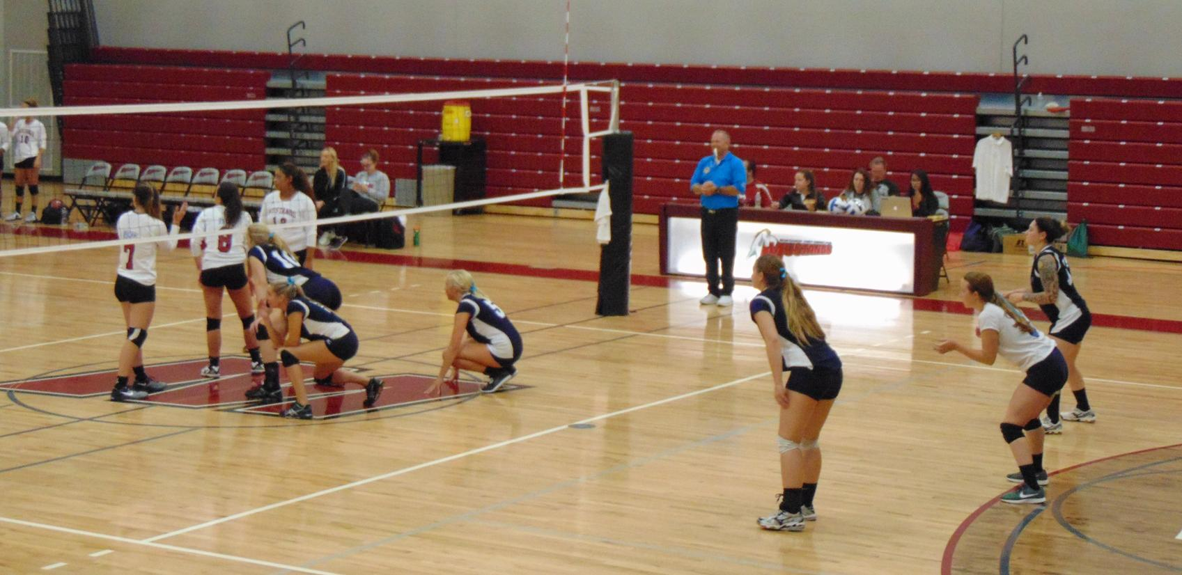 Mustangs Escape Lady Centurions