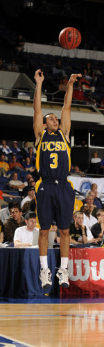 Weiner's Heroics Lead UCSB to 75-67 OT Win Over Fresno Pacific