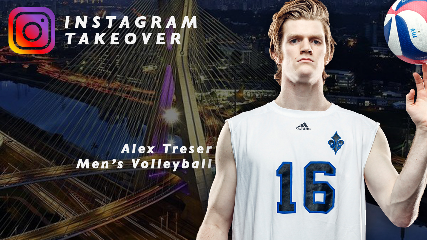 Men's Volleyball Alex Treser Set For Instagram Takeover For Trip To FISU America Games in Brazil