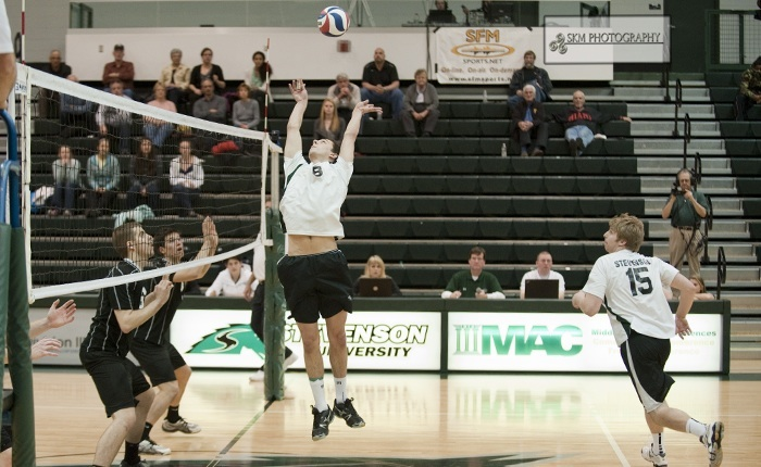 Mustangs Survive Scare From Eastern Mennonite, Win in Five Sets