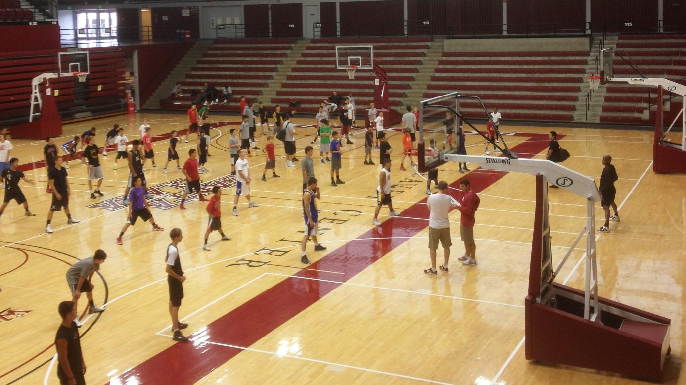 Bronco Basketball Hosts Five Summer Camps