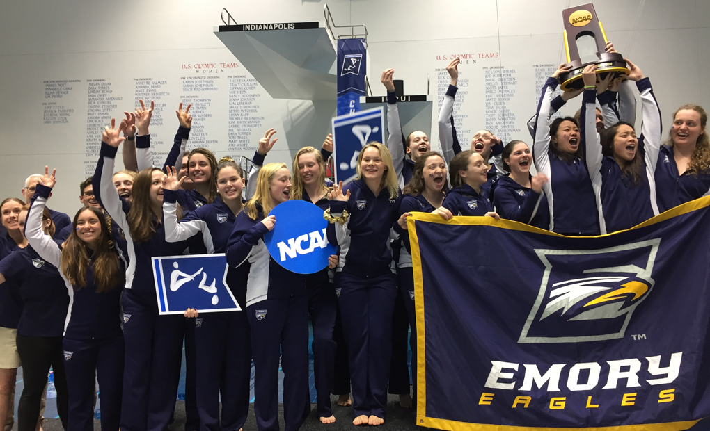 NATIONAL CHAMPS! - Eagles Fly Higher as Women's Swimming & Diving Wins Ninth-Straight Title