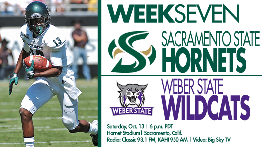 Football Takes on Weber State for Homeconing on Saturday