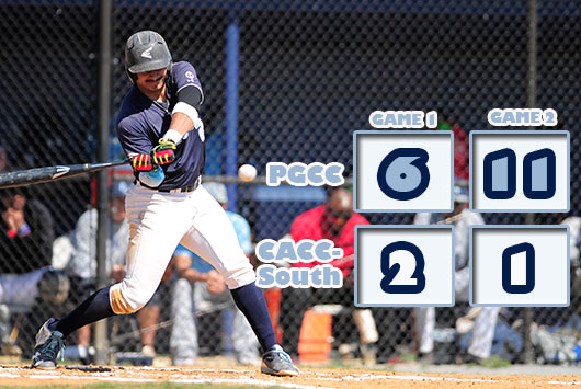 McFadden's Bat And Arm Lifts Prince George's Baseball To Twinbill Sweep Of CCAC-South