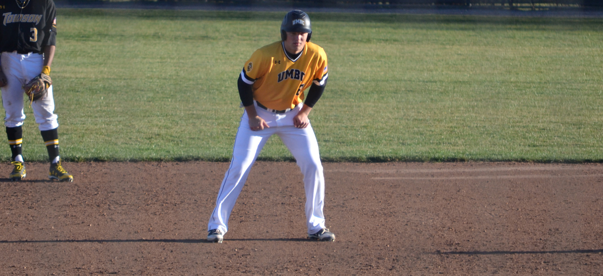 UMBC Baseball Uses Hot Hitting to Defeat Towson, 13-0 in a Rain Shortened Game on Wednesday
